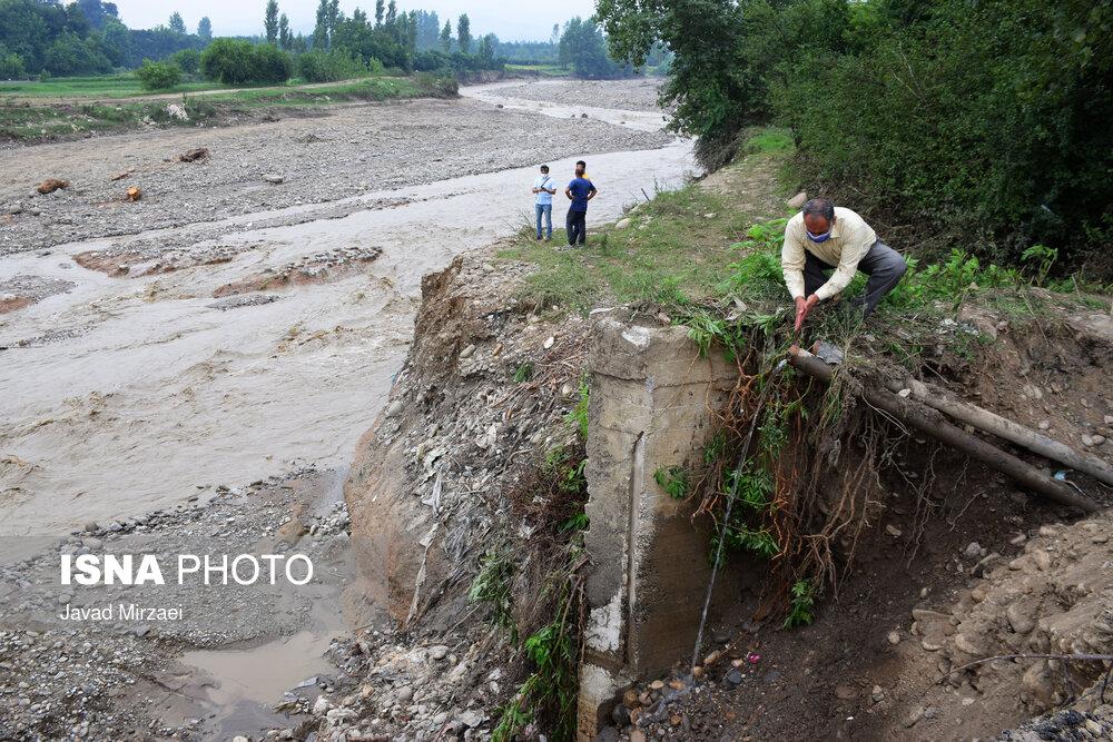 خسارات ناشی از سیلاب در مازندران