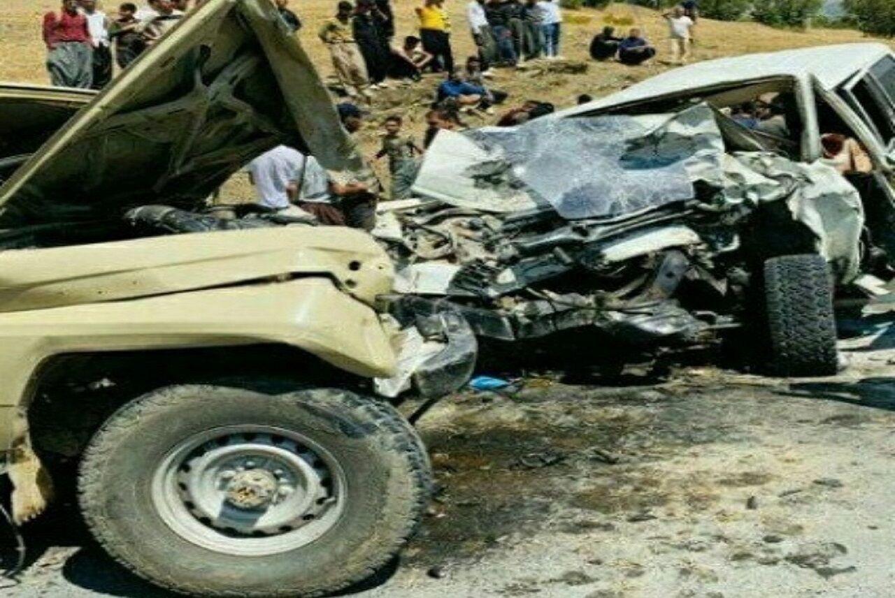 حادثه رانندگي در بانه ۲ کشته و ۳ زخمي برجاي گذاشت