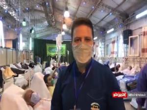 ازدحام در بیمارستان های تهران
