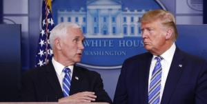ماجرای مشاجره شدید ترامپ با مایک پنس