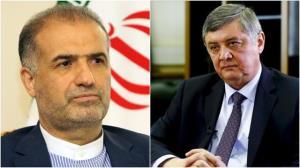 دیدار سفیر ایران در مسکو با نماینده پوتین در امور افغانستان