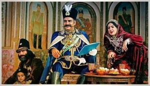 سکانسی از قسمت اول سریال تاریخی قبله عالم