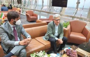 مدیرکل سیاسی - امنیتی وزارت خارجه ایتالیا وارد تهران شد