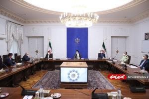 اولین جلسه رسمی رئیسجمهور پس از تنفیذ؛ رئیسی با کرونا شروع کرد