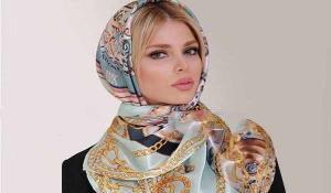 آموزش بستن روسری مجلسی برای دورهمی ها