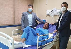 هادیپور جراحی شد