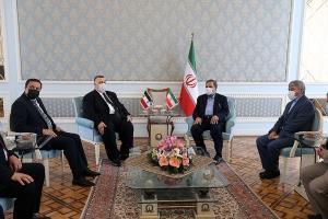 اظهارات محسن رضایی در دیدار با رئیس مجلس سوریه