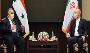 قالیباف: ایران تاکید ویژه ای بر توسعه تبادلات اقتصادی با سوریه دارد