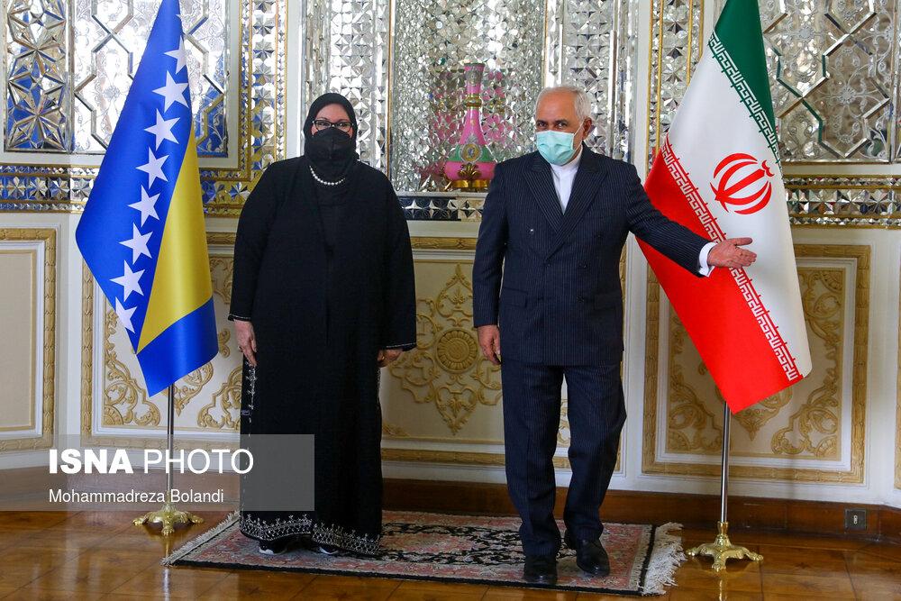 دیدار وزیران خارجه ایران و بوسنی