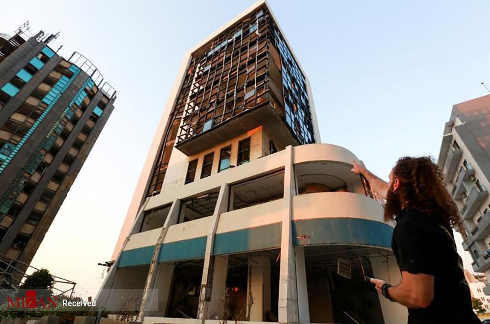 عکس/ بیروت یکسال پس از انفجار