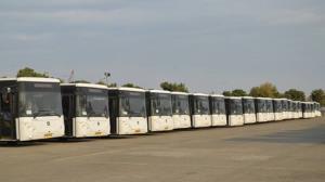 بهرهبرداری از ۵۰ دستگاه اتوبوس شهری جدید در کرج
