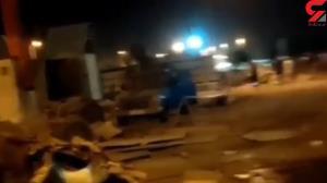 انفجار در جایگاه سوخت شهر ویس؛ یک نفر مصدوم شد