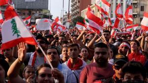 درگیری میان تظاهرکنندگان و نیروهای امنیتی لبنان