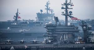 آغاز بزرگترین رزمایش دریایی چند دهه اخیر آمریکا