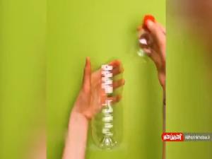 ساخت چراغ خواب با بطری دور ریختنی