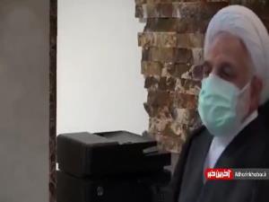 گفتگوی خصوصی با محسنی اژه ای در بندهای امنیتی زندان اوین