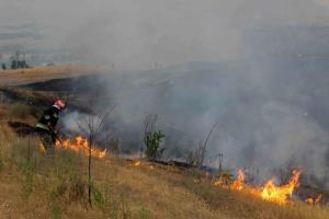 آتشسوزی جنگلهای ارس در ارتفاعات هزار مسجد کلات مهار شد