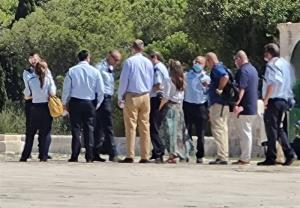بازدید سرزده هیئت آمریکایی از مسجد الاقصی!