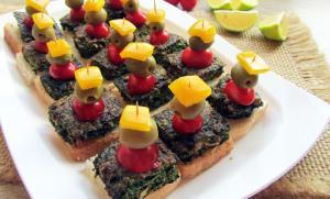 کاناپه کوکو سبزی؛ فینگرفودی خوشمزه و راحت