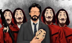 پوستر فصل آخر سریال محبوب «سرقت پول» منتشر شد