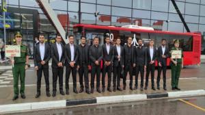 تیم ایران برای شرکت در مسابقات نظامی روسیه وارد مسکو شدند
