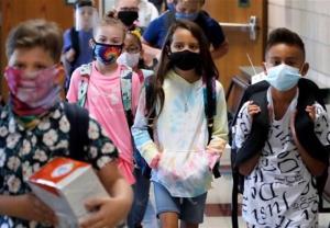 رکورد کودکان کرونایی بستری شده در بیمارستانهای آمریکا شکسته شد