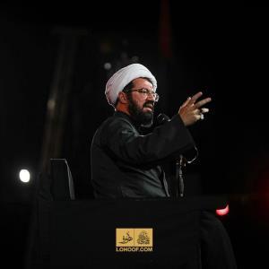 اشاره «استاد عالی» به امتیازات بلاها در سخنرانی شب اول محرم