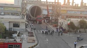 ورود عظیمترین برج صنعت پتروشیمی کشور به پتروشیمی بوعلیسینا در ماهشهر