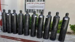 اهدای ۵۰ کپسول اکسیژن به مراکز درمانی استان قزوین