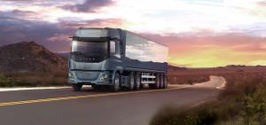 کامیون هیدروژنی هایزون با برد 400 مایل