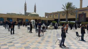 مراسم عزاداری سوگواری حسینی در کیش برگزار شد