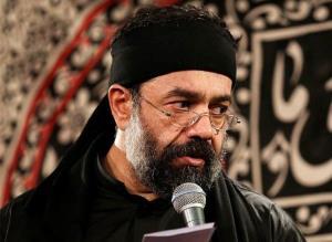 روضه «مشکت صدپاره شده» با نوای حاج محمود کریمی در محرم 1400