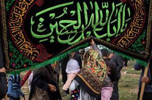 ترکمنهای گلستان در غم شهیدان کربلا سوگواری میکنند