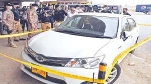 حمله انتحاری به خودروی حامل اتباع چینی در پاکستان