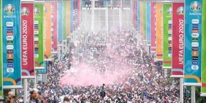 فینال یورو 2020 منبع پخش کرونا لقب گرفت