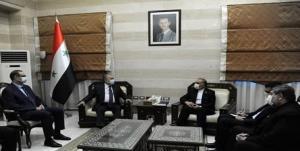 دیدار سفیر ایران با نخست وزیر سوریه با محوریت مقابله با تحریمهای آمریکا