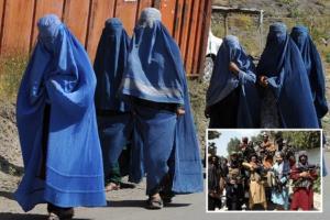 به آتش کشیدن یک زن افغان بدست طالبان به دلیل بد آشپزی کردن