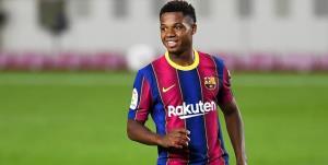 فاتی به تمرینات بارسلونا بازگشت