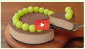 آموزش تهیه چیز کیک شکلاتی
