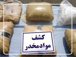 قاچاقچی ۲۱۰ کیلو حشیش در بافت دستگیر شد