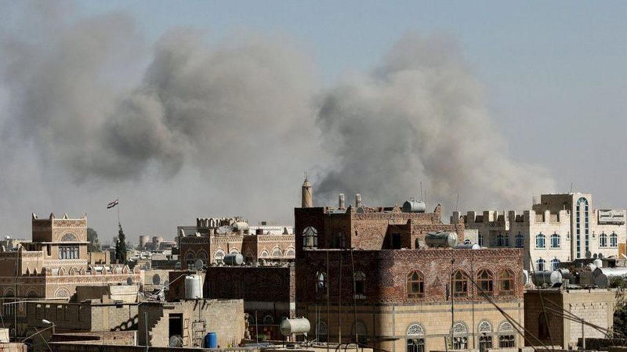 بمباران برخی استانهای یمن از سوی ائتلاف متجاوز سعودی