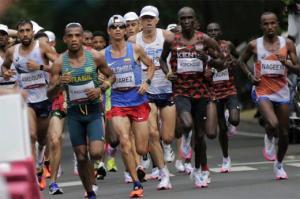 حرکت ناجوانمردانه دونده فرانسوی در المپیک توکیو 2020