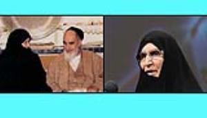 روایتی از نامه محبت آمیز امام خمینی به دخترشان