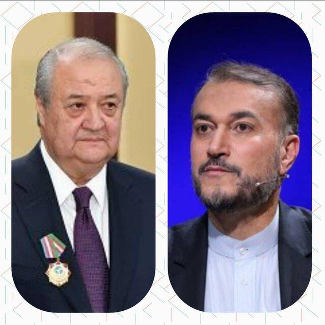وزیر خارجه ازبکستان به امیرعبداللهیان پیام داد