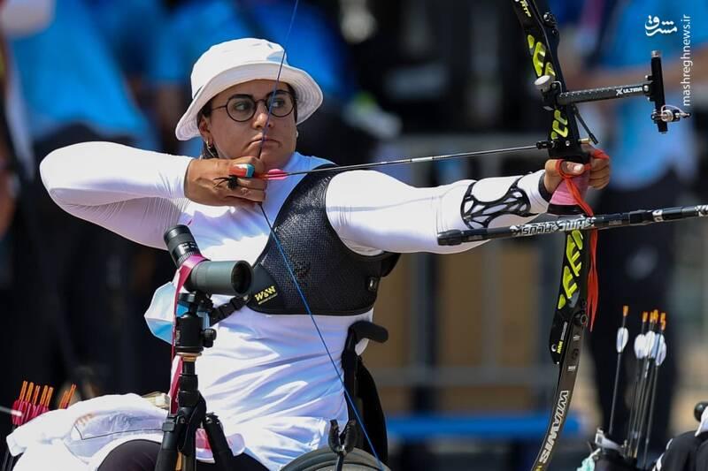 عکس/ رقابت نمایندگان کشورمان در سومین روز پارالمپیک