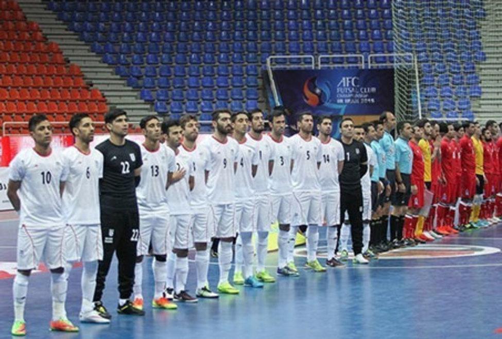 اعلام زمان بازی های تیم ملی ایران در جام جهانی فوتسال