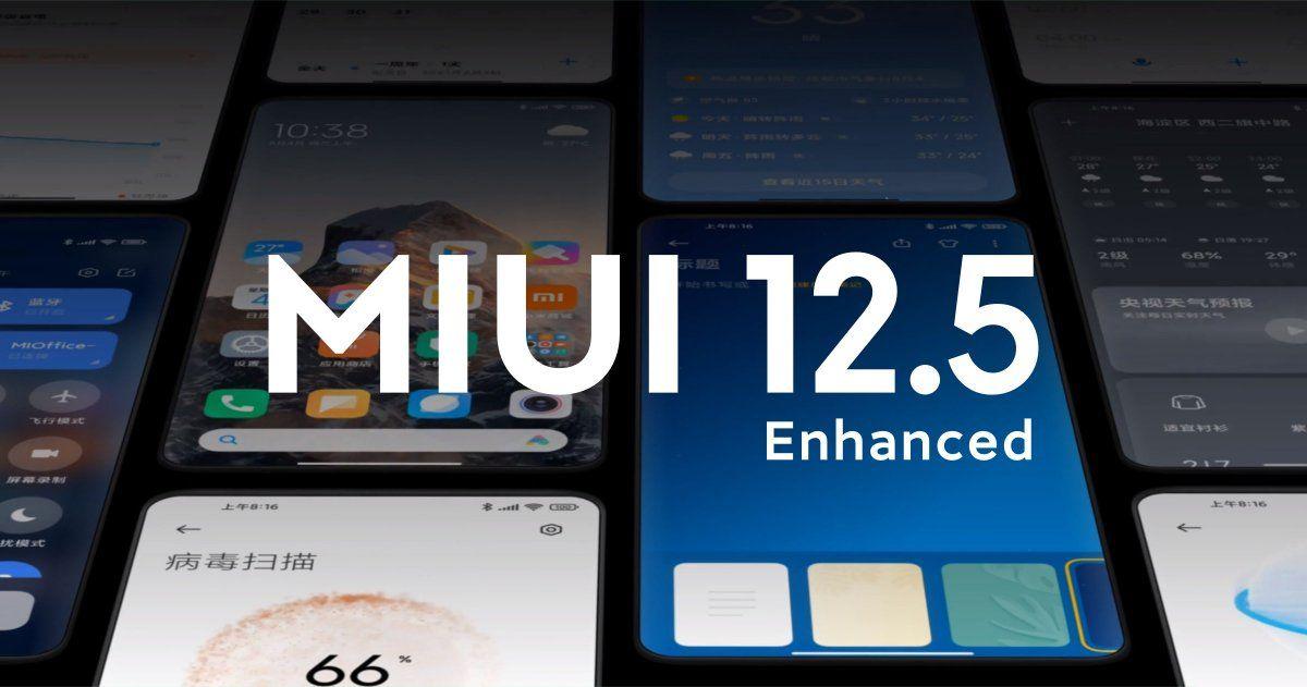بهروزرسانی MIUI 12.5 Enhanced جهانی شد