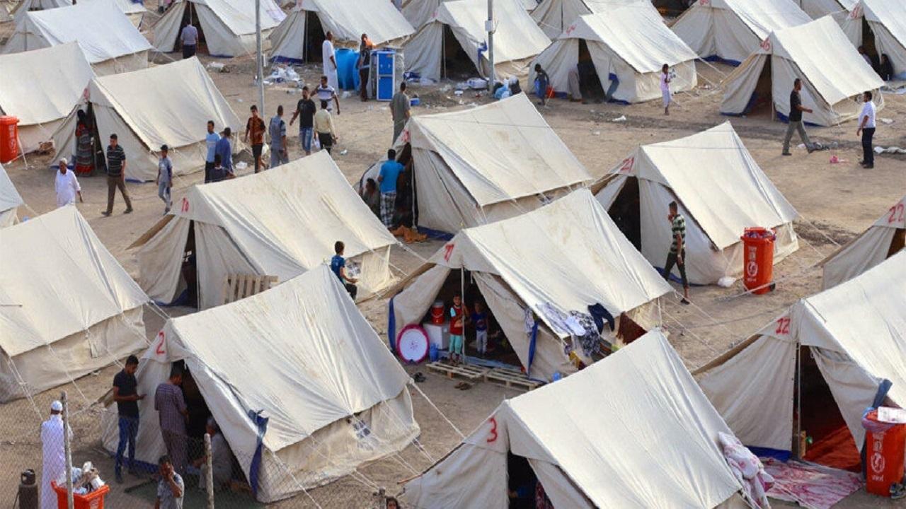 سکونت ۳۷ هزار خانواده در اردوگاههای آوارگان در عراق