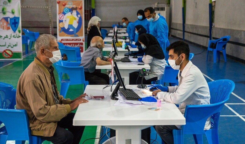 مرکز تجمیعی واکسیناسیون در ساوجبلاغ راهاندازی شد