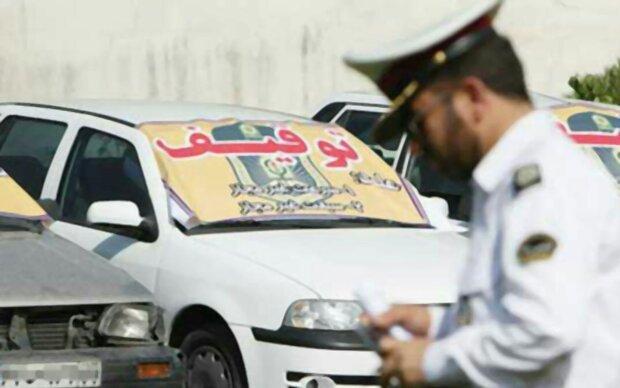 توقیف ۲۰ دستگاه وسیله نقلیه متخلف در شهرستان درهشهر